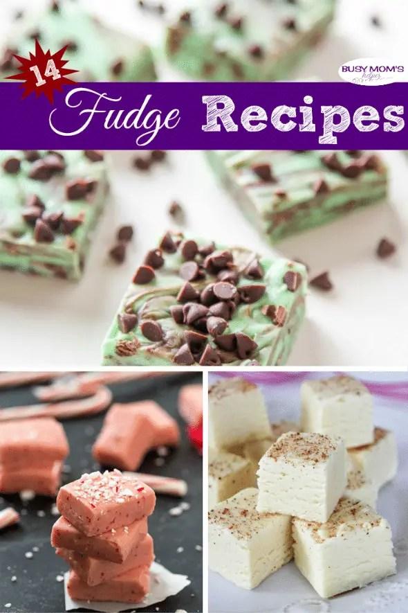 14 Fudge Recipes #dessert #recipe #snack #fudge