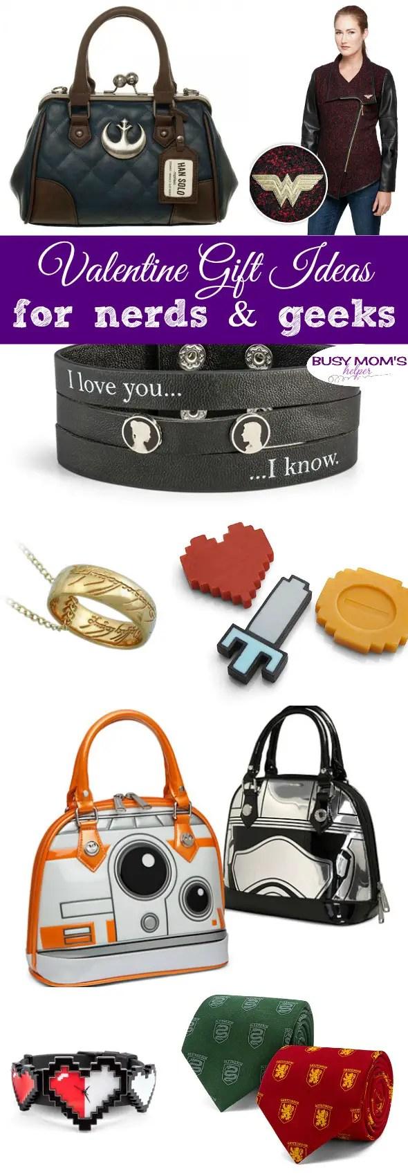 Valentine's Day Must Haves for Geeks #starwars #nerd #geek #valentinesday #valentinegift #holiday