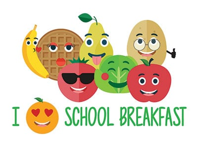 Mornings Saved by School Breakfast - celebrate National School Breakfast Week with us March 5th-9th 2018! #AD #NSBW18 #SchoolBreakfast #TrayTalk