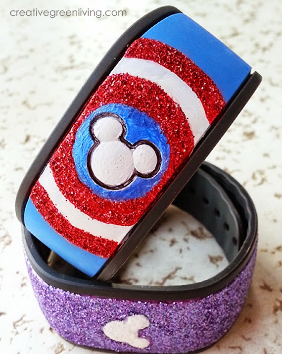DIY Disney MagicBand Decorating Ideas #disney #magicband #diy #waltdisneyworld #craft