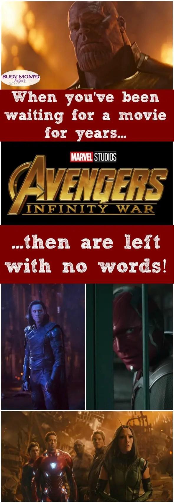 Speechless about Avengers Infinity War #infinitywar #disneypartner #movie #marvel #avengers #superhero #theater