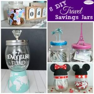 8 DIY Travel Savings Jars