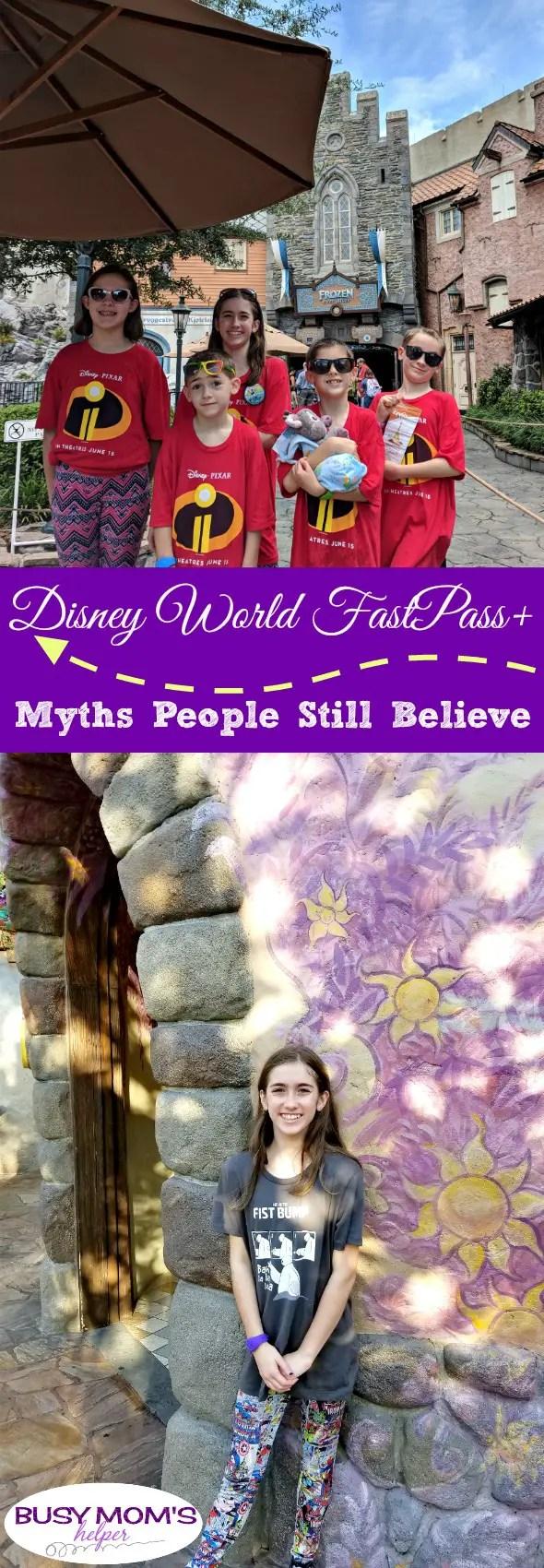 Disney World FastPass+ Myths People Still Believe #waltdisneyworld #disneyparks #travel #familytravel #disneytravel #disneytrip #fastpass