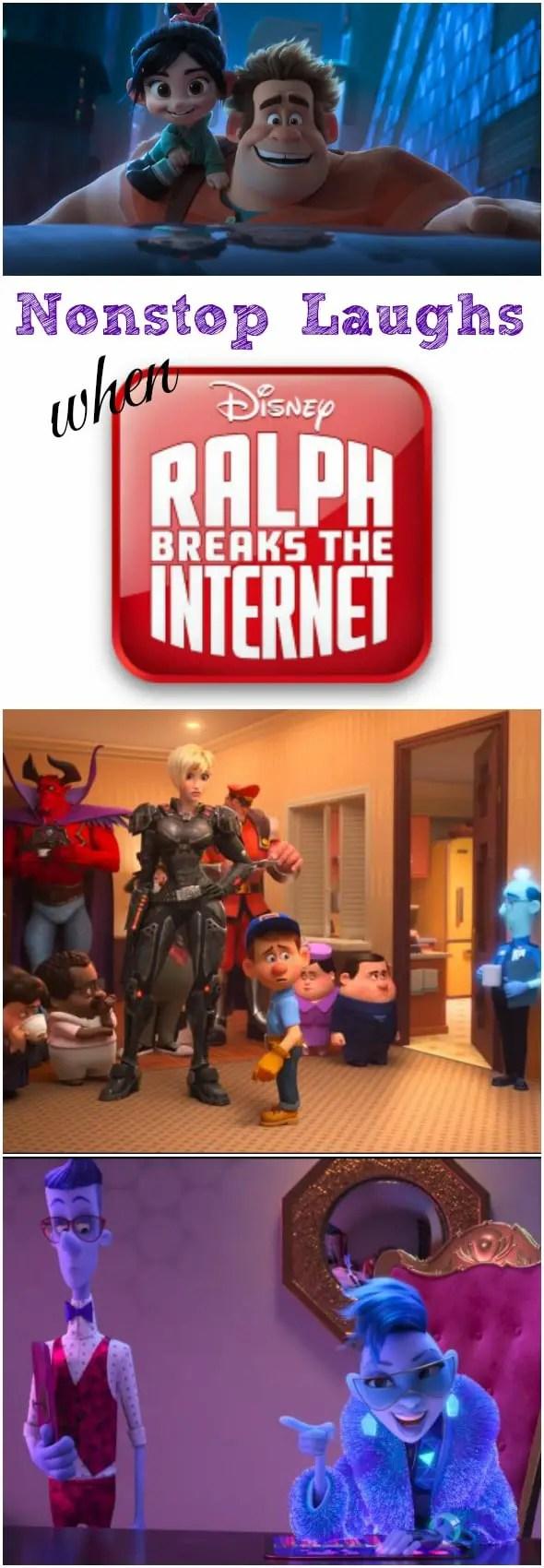 Nonstop Laughs when Ralph Breaks the Internet #disney #RalphBreaksTheInternet #movie #comingsoon