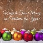5 Tips to Save Money on Christmas this Year #christmas #holiday #gifts #holidayshopping #holidaybudget #budget #finances #ChristmasShopping