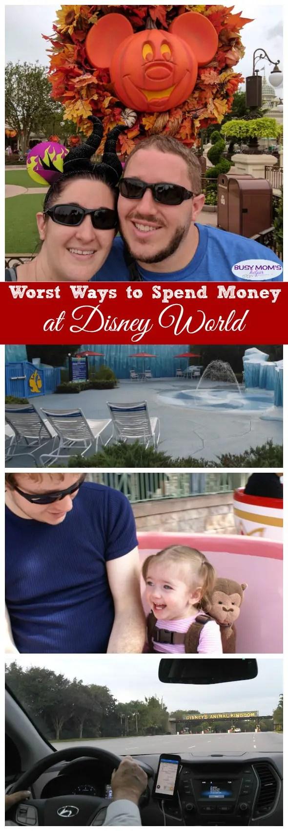 Worst Ways to Spend Money at Disney World #waltdisneyworld #wdw #travel #familytravel #disney #disneyparks