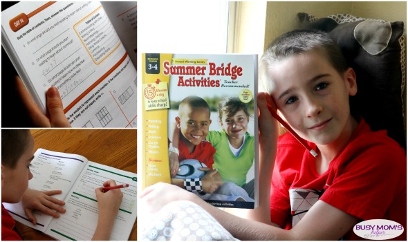 Lots of easy Summer Fun Learning! Just 15 minutes a day helps keep minds sharp & ready for the next school year #AD #CarsonDellosaEducation #IC