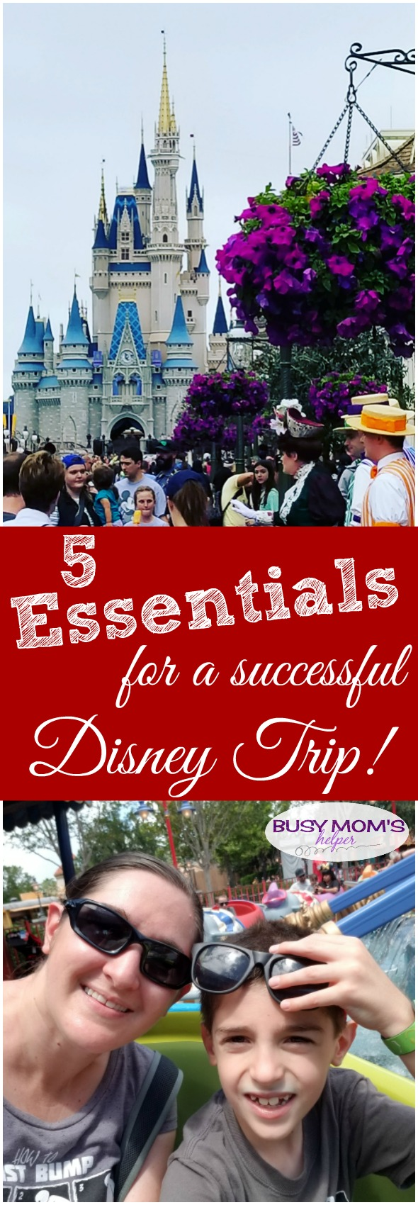 Essentials to Pack for a Disney Trip - a successful Disney trip! #disney #waltdisneyworld #disneytips #disneyparks #travel
