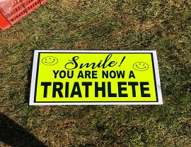 Lessons for your first triathlon