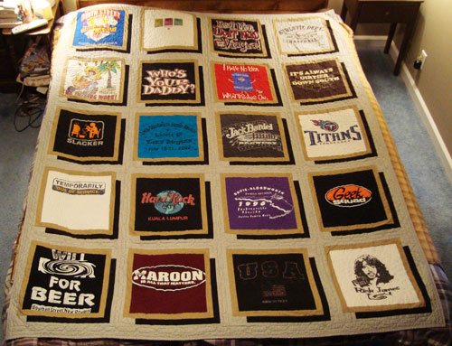 Tee Shirt Quilt Patterns