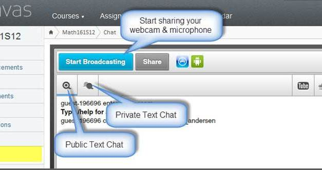 Online Office Hours in Instructure Canvas