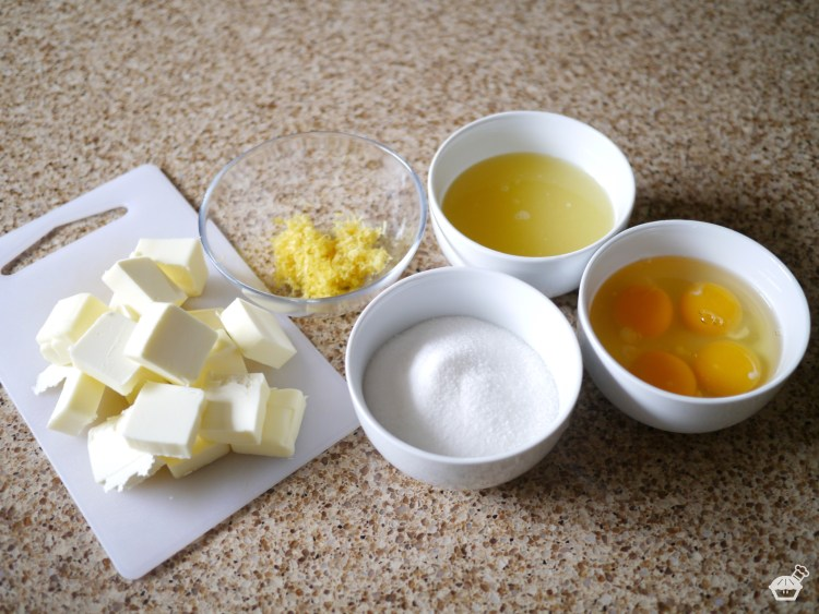 Ingredients for Raspberry-Lemon Squares