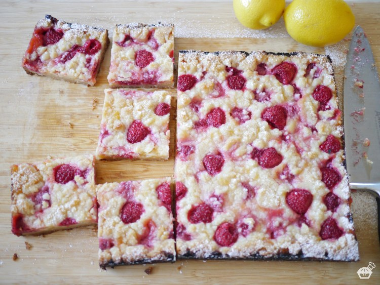 Raspberry-Lemon Squares