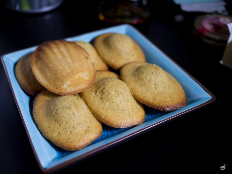 Vanilla-Brown Butter Madeleines