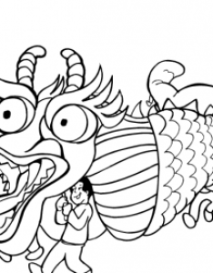 Chinese new year colouring page also free coloring pages for kids rh busyteacher