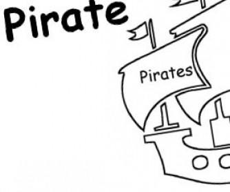 Im A Pirate Creative Writing Template For Kids