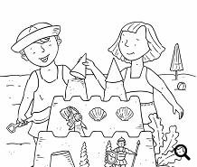 July Collection: Calendars, Coloring Pages, Flashcards