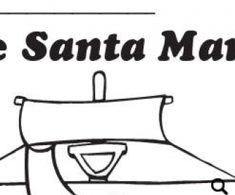 The Santa Maria: Columbus Day Coloring Page Project