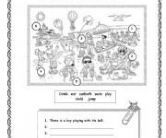 Present Continuous Worksheet 2