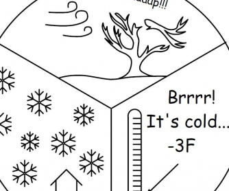 Weather Worksheet: Billy and Maria Learn About Winter