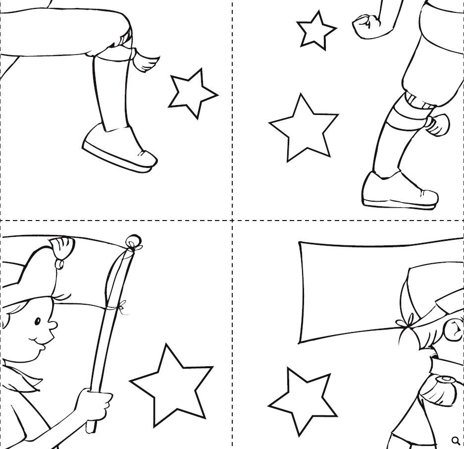 Holidays and Celebrations Worksheet: A Parade Puzzle