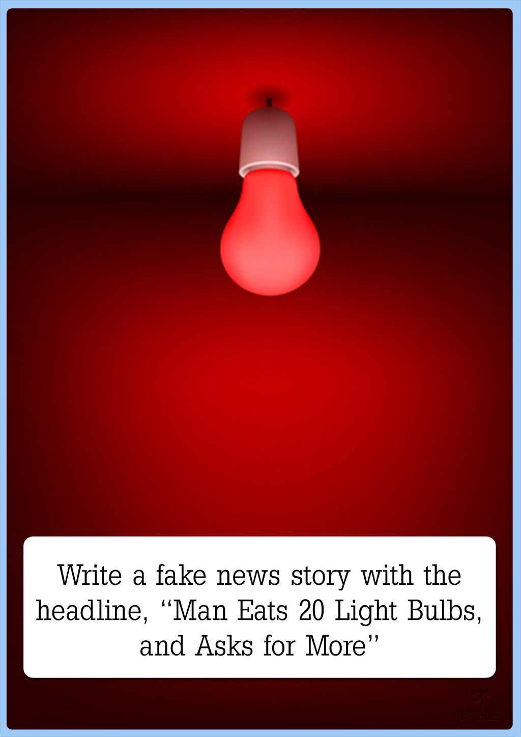 Write A Fake News Story Creative Writing Prompt