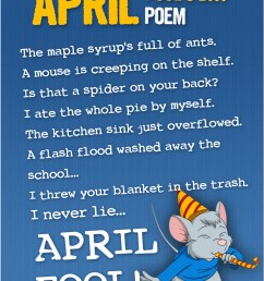 14 FREE April Fools Worksheets [ 1218 x 861 Pixel ]