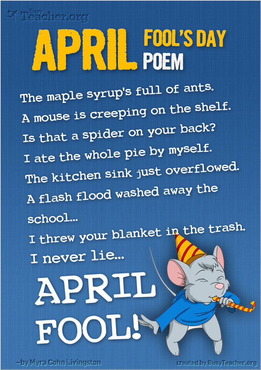 hight resolution of 14 FREE April Fools Worksheets