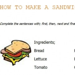 Essay Writing Sandwich Diagram 3 Way Switch Wiring How To Make A Sandwich: Instructions Worksheet
