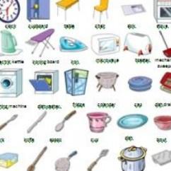 Kitchen Utensil Aid Repair Utensils And Appliances Worksheet