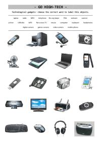 Technology Vocabulary