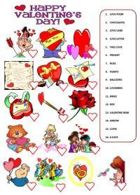 Saint Valentine's Day Worksheet