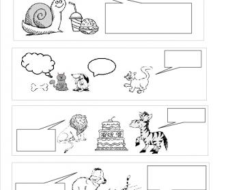 Create Dialogue Comic Strip