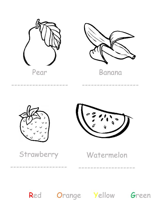 Fruit for Preschoolers