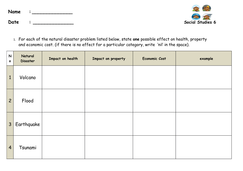 10 Free Tsunami Worksheets Lesson Plans And Lesson Ideas