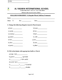 96 FREE Prefixes/Suffixes Worksheets