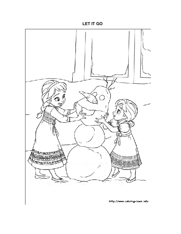 Song Worksheet: Let It Go ( Frozen)