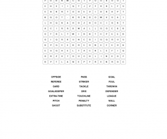 Basic Soccer Vocabulary