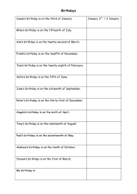 56 FREE Ordinal Numbers Worksheets