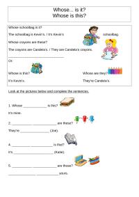 119 FREE Possessive Pronouns Worksheets: Teach Possessive ...