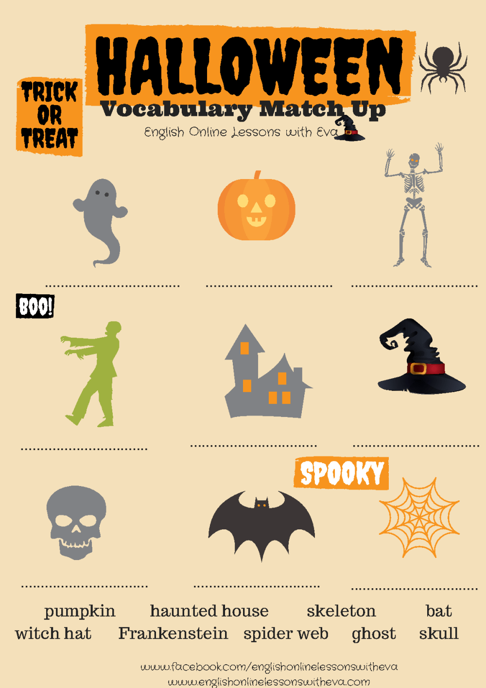 medium resolution of 214 FREE Halloween Worksheets