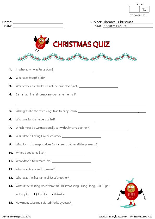 357 FREE Christmas Worksheets Coloring Sheets Printables
