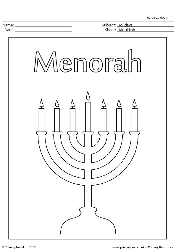 17 Free Hanukkah Worksheets