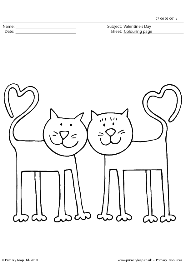 Snow Guides » valentines color by number worksheets. sn