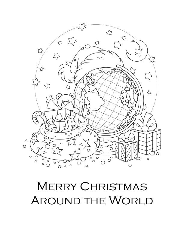 Holidays Around The World Booklet Printable