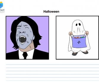 Halloween Storytelling Flashcard Prompts