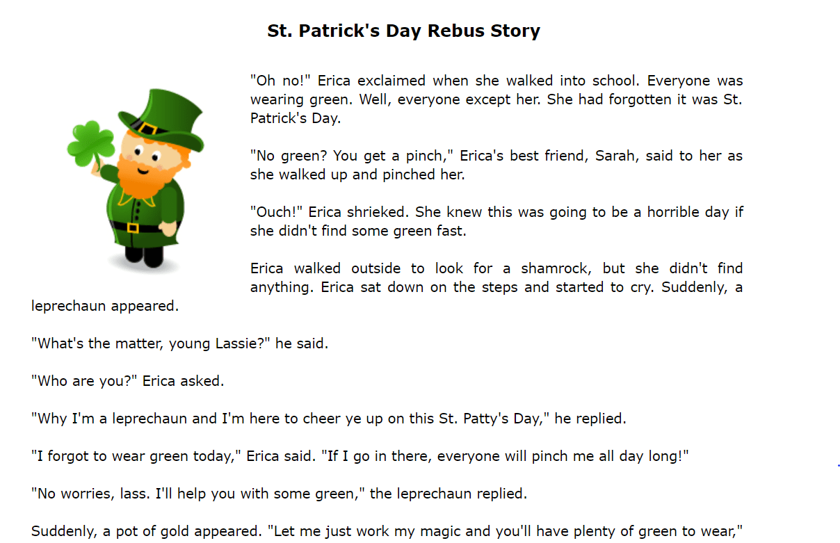 hight resolution of 40 FREE Saint Patrick's Day Worksheets
