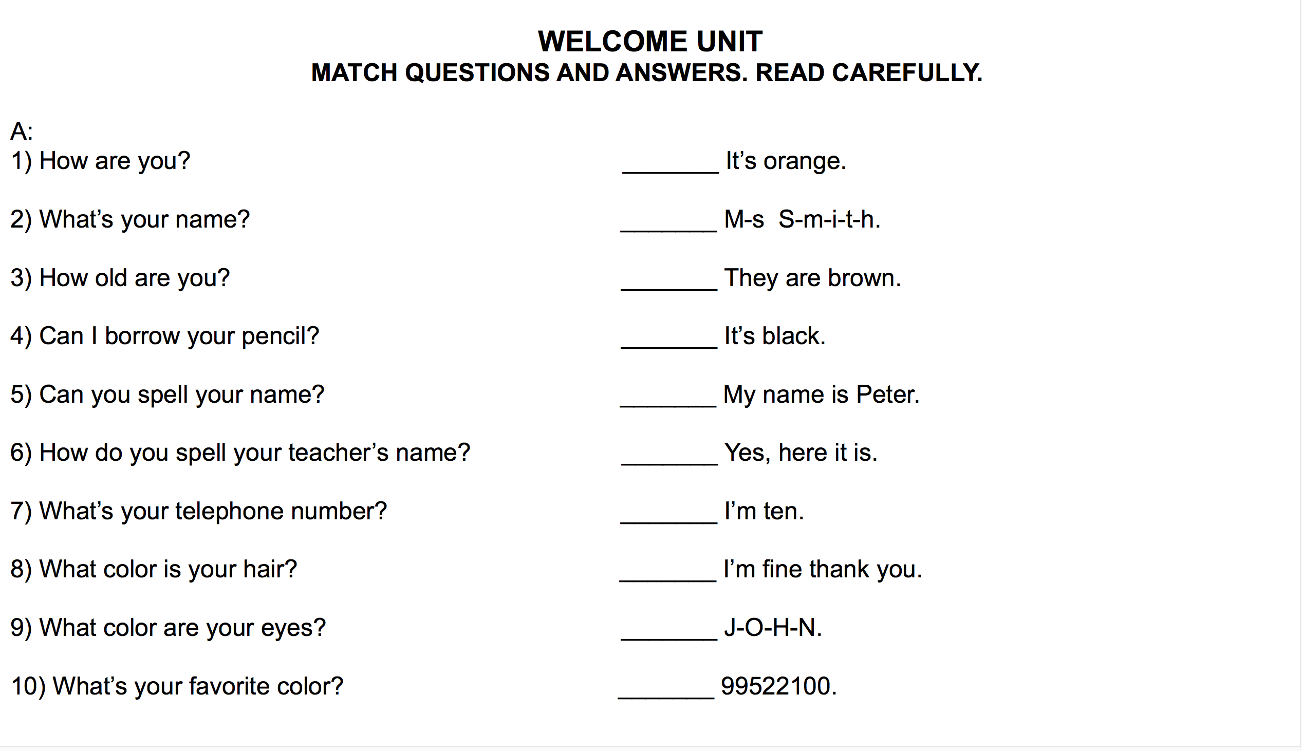 Year 5 English Worksheets Malaysia