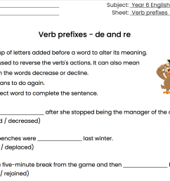 96 FREE Prefixes/Suffixes Worksheets [ 1046 x 1572 Pixel ]