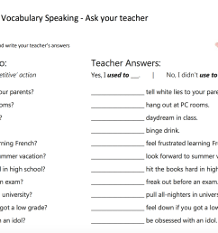 936 FREE Speaking Worksheets [ 1352 x 2068 Pixel ]